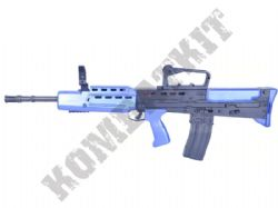 L85A1 British Army SA80 Style Rifle Airsoft BB Gun Black and Blue